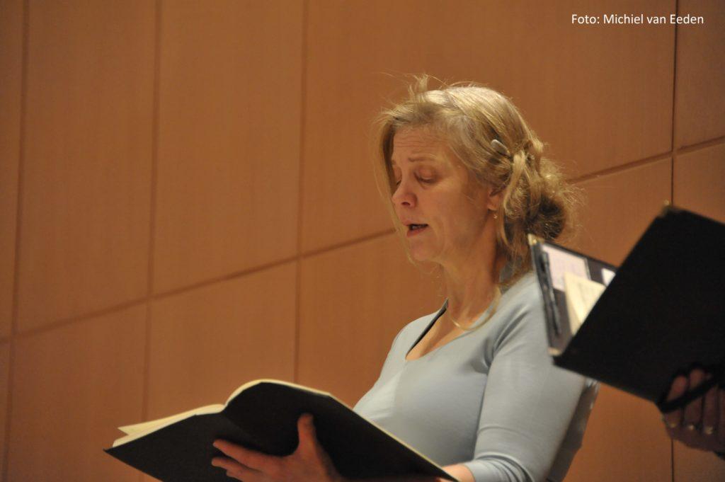 Het VocaalAtelier  docent Patricia Smulders
