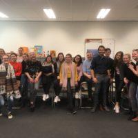 Pabo zanglessen. Educatieproject van Brabant Koor en Fontys